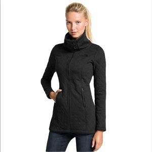 The North Face Quilted Caroluna Coat Size Small Black